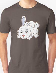Cute white cartoon rabbit T-Shirt