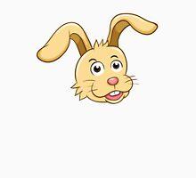 Head of funny yellow cartoon rabbit Unisex T-Shirt