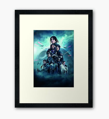 Star Wars Framed Print