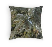 Mother Nature's Christmas Decorations - Pine Branches Throw Pillow