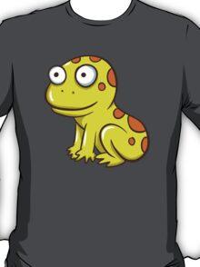 Cute yellow cartoon frog T-Shirt