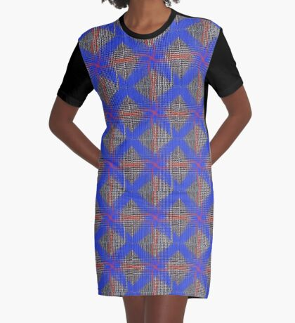 Great Heritage - Blue at Tweed Graphic T-Shirt Dress