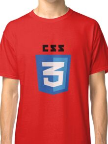 CSS 3 - Cascading Stylesheets 3 Classic T-Shirt