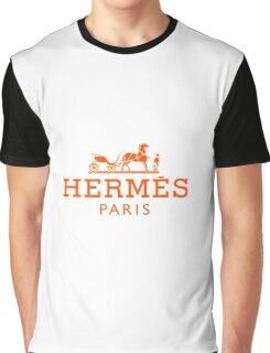 hermes Graphic T-Shirt