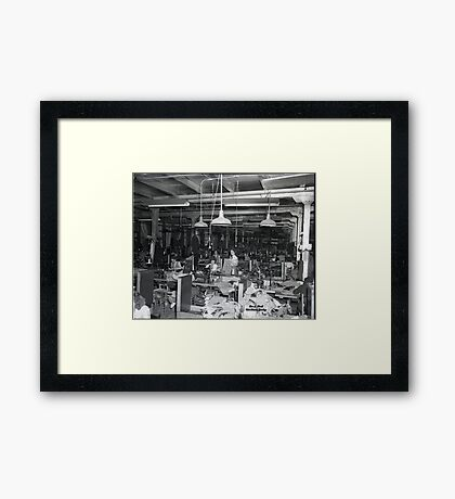 1948 MARCH, MERIT MANUFACTURING, MAYFIELD, KENTUCKY NO.29 Framed Print