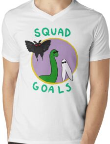 Cryptid Squad Mens V-Neck T-Shirt