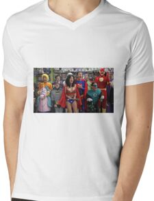 The Big Bang Theory Mens V-Neck T-Shirt