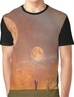 Twin Moons Graphic T-Shirt