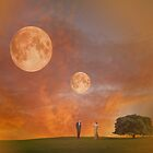 Twin Moons by Ann  Warrenton