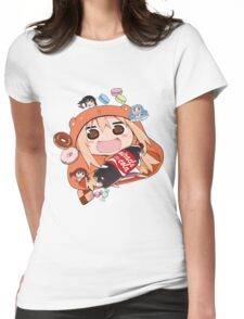 Umaru chan Womens Fitted T-Shirt