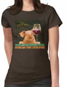pigot noir... Womens Fitted T-Shirt