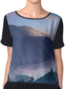 Twin lakes Chiffon Top