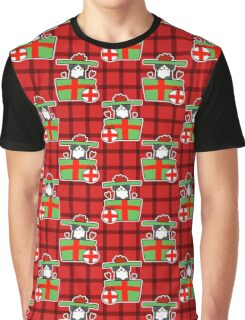 Christmas Gift Bernie Pattern Graphic T-Shirt