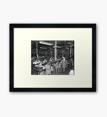 1948 MARCH, MERIT MANUFACTURING, MAYFIELD, KENTUCKY NO.31 Framed Print