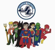 JLA Characters T-Shirt