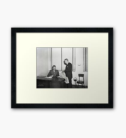 1948 MARCH, MERIT MANUFACTURING, MAYFIELD, KENTUCKY NO.32 Framed Print