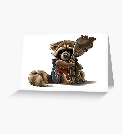 Guardian Of Galaxy Greeting Card