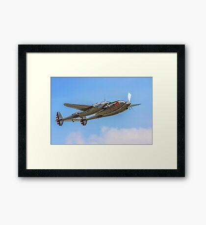 Lockheed P-38L Lightning 44-53254 N25Y Framed Print