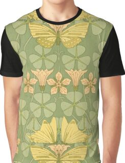 Art Nouveau,vintage,rustic,pattern Graphic T-Shirt