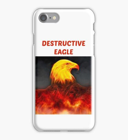 Destructive Eagle  iPhone Case/Skin