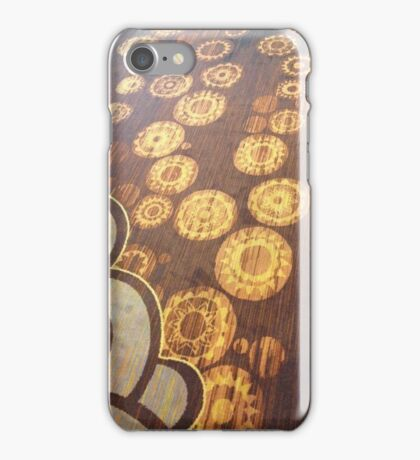 Circles and clouds iPhone Case/Skin