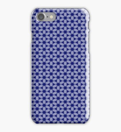 Blue Flower Abstract iPhone Case/Skin