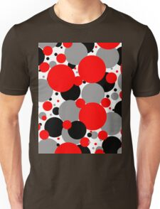 Red Polka Dots Unisex T-Shirt