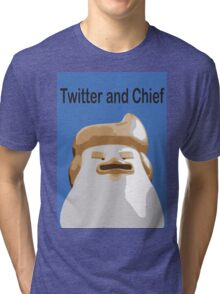Twitter and Chief Tri-blend T-Shirt