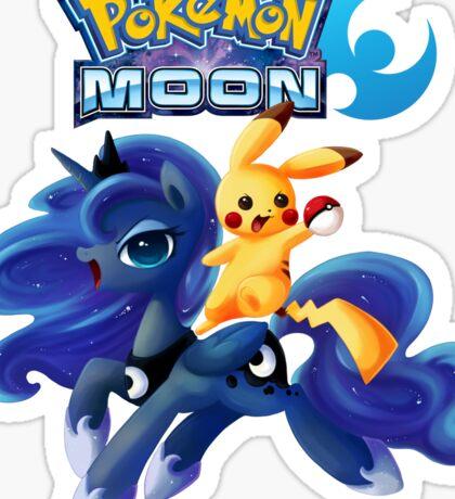 Pokemon Luna version Sticker