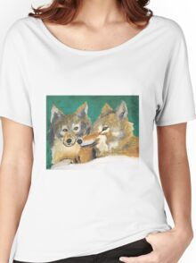 Mr. and Mrs. Wolf Women's Relaxed Fit T-Shirt