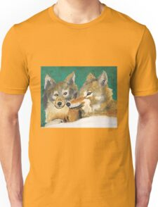 Mr. and Mrs. Wolf Unisex T-Shirt
