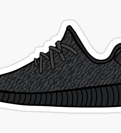 Yeezy 350 - Pirate Black Sticker
