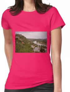 A view of Neretva River from Počitelj, Bosnia and Herzegovina Womens Fitted T-Shirt