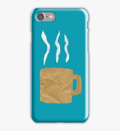 Coffee - Mixed media iPhone Case/Skin