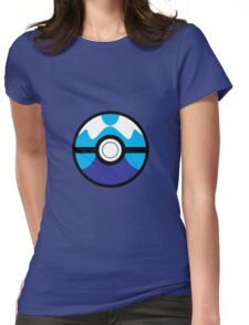 Dive Ball Womens Fitted T-Shirt