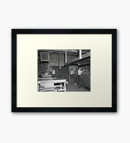 1948 MARCH, MERIT MANUFACTURING, MAYFIELD, KENTUCKY NO.38 Framed Print