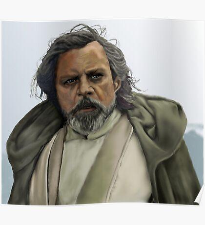 Luke Skywalker - The Force Awakens Poster