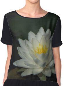 Water Lily Love Chiffon Top