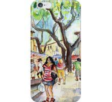 Collioure Market 01 iPhone Case/Skin
