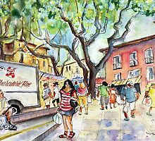 Collioure Market 01 by Goodaboom