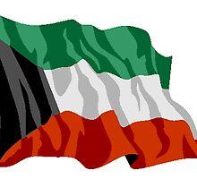 Kuwait Flag by kwg2200