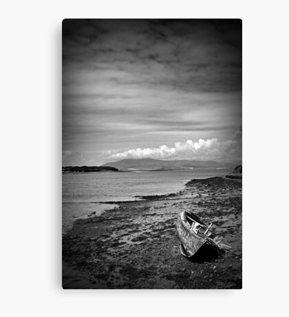 Walney Channel Wreck #2 Canvas Print