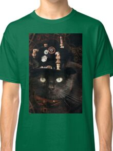 Steampunk Funny Cute Cat Classic T-Shirt