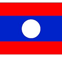 Laos Flag by kwg2200