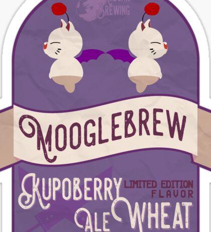 Mooglebrew Kupoberry Ale Sticker