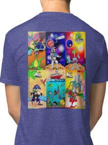 Cartoon-m-1 Tri-blend T-Shirt