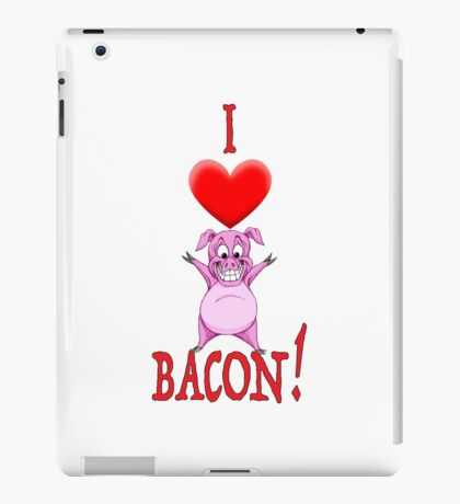 I Love Bacon! iPad Case/Skin