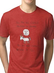 Believing in Unicorns Tri-blend T-Shirt