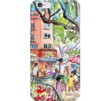 Collioure Market 02 iPhone Case/Skin