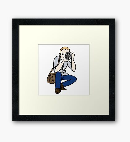 Photographing Framed Print
